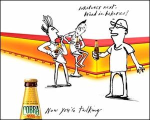 Cobra Indian Recipe Beer