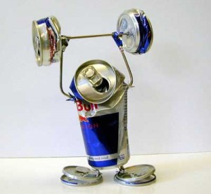 Red Bull - it gives you wings,.... and more