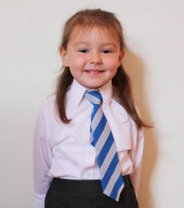Carmen going to School